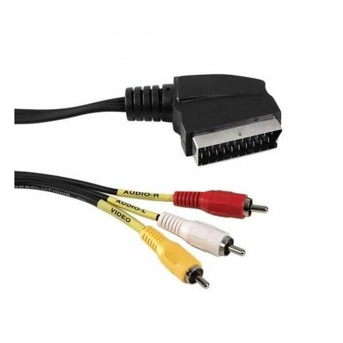 3RCA - SCART kábel (1,5m)