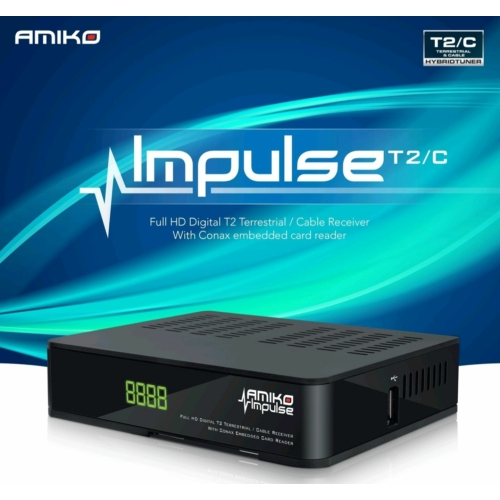 AMIKO Impulse DVB-T2/C digitális vevőegység